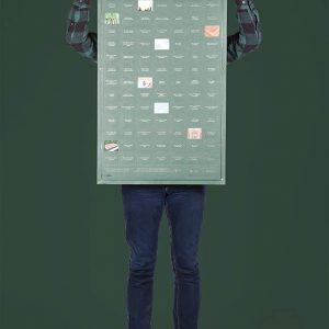 Poster 100 lugares a visitar antes de morir