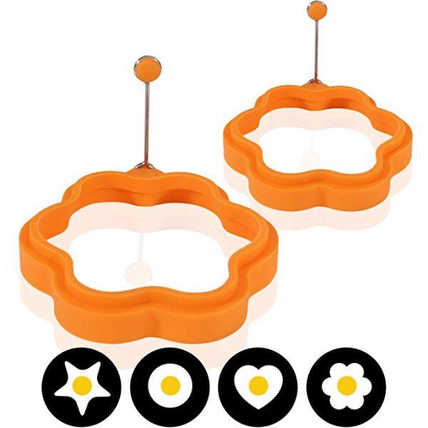 Moldes huevos silicona