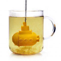 Infusor de te submarino amarillo