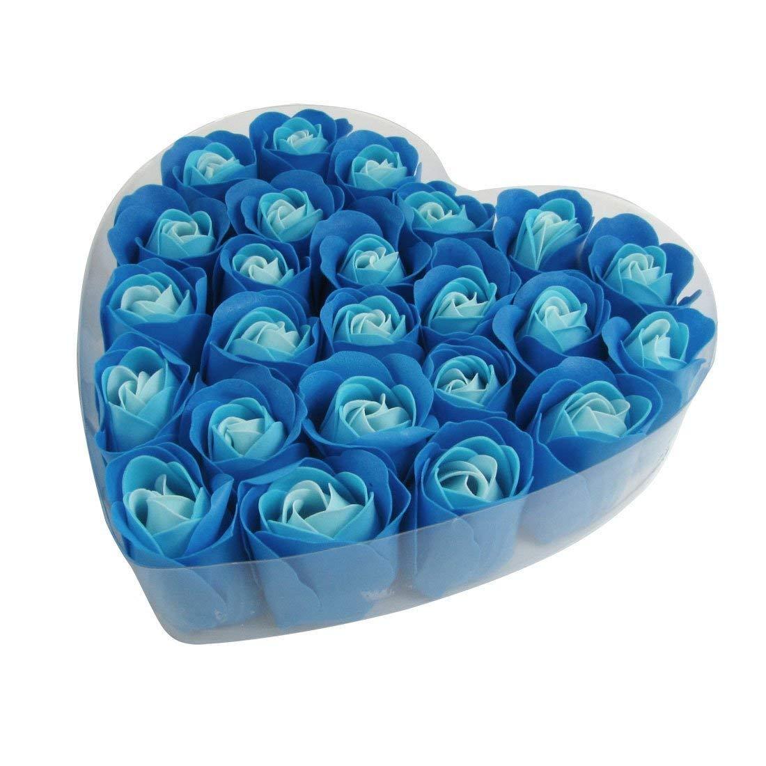 Jabon baño petalos rosas