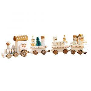 pequeño tren navidad