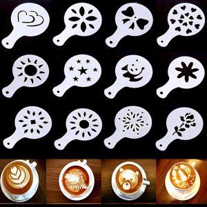 Plantillas para decorar el café