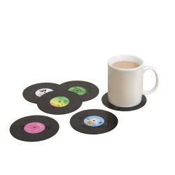 Posavasos disco vinilos