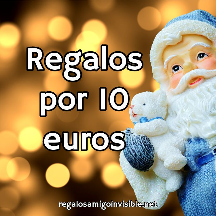 regalo amigo invisible 10 euros
