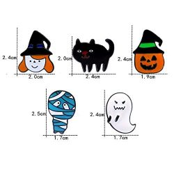 Broches Halloween regalo