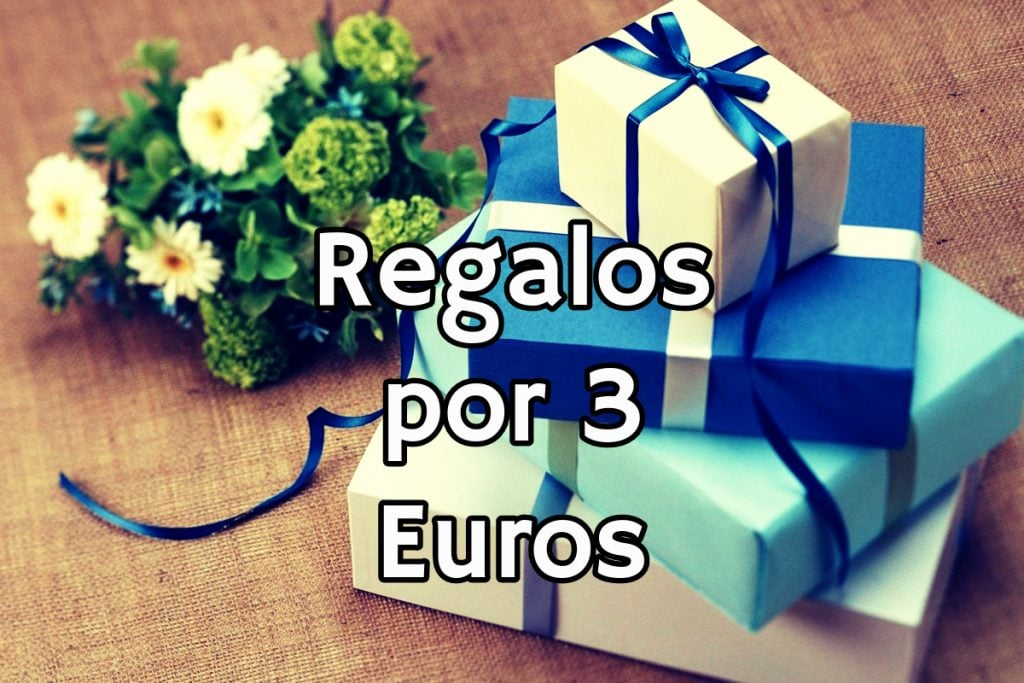 regalos por 3 euros