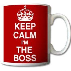 Taza soy el jefe