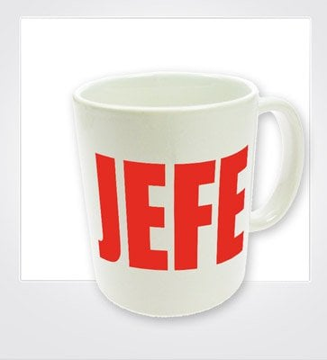 que regalarle a tu jefe La taza del Jefe