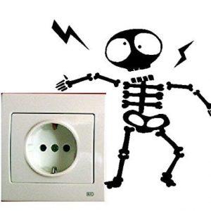 Muñeco electrocutado
