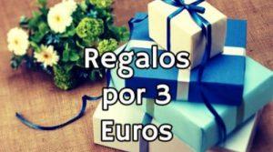 regalos por menos de 3 euros