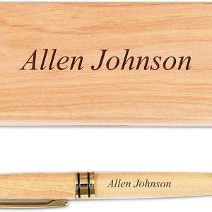 Bolígrafo madera personalizado