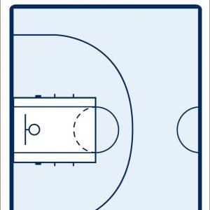 Pizarra táctica baloncesto
